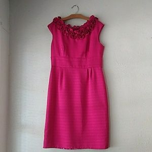 Fuschia magenta pink Cocktail formal dress